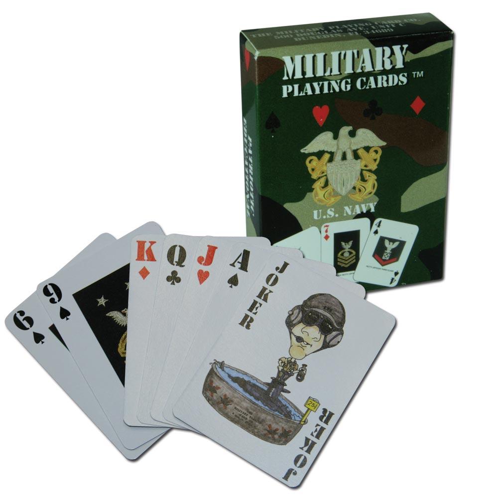 Spielkarten US Navy