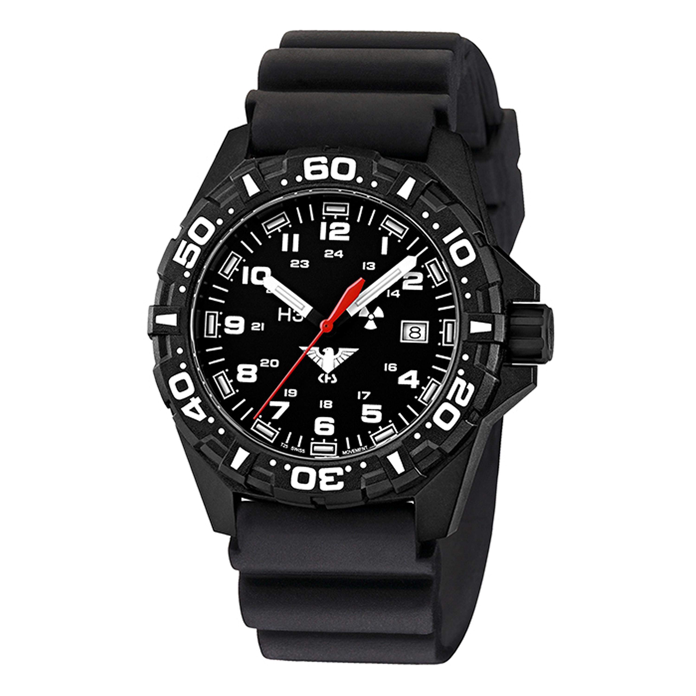 KHS Uhr Reaper Diver schwarz