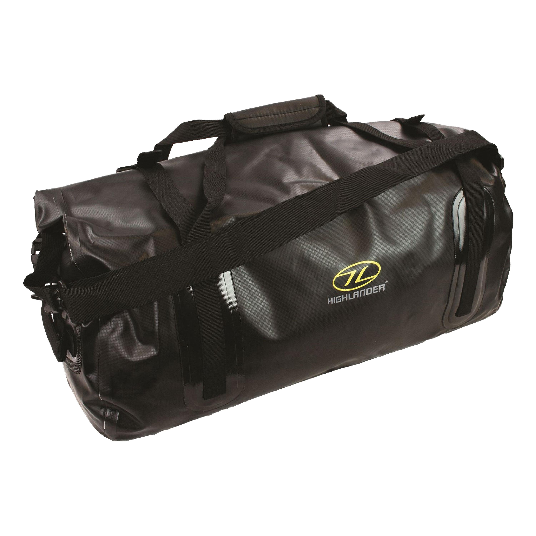 Highlander PVC Packtasche Mallaig 35L schwarz