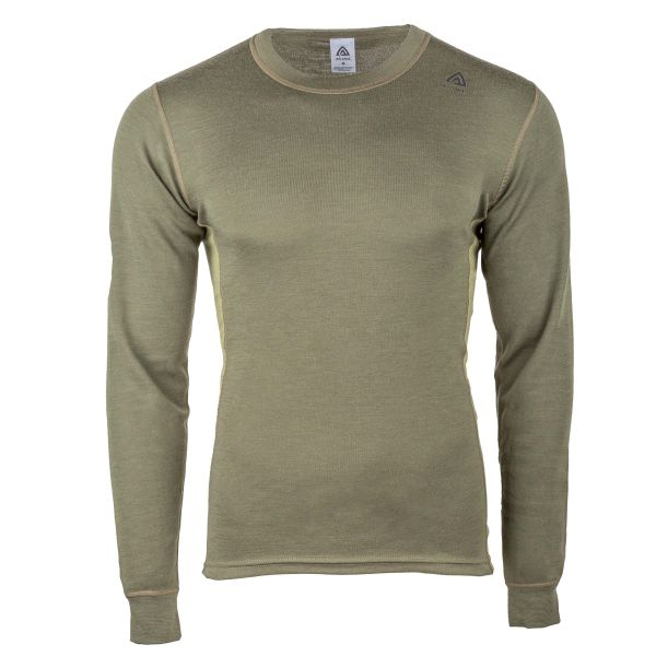 Aclima Pullover WarmWool Crew Neck olive night
