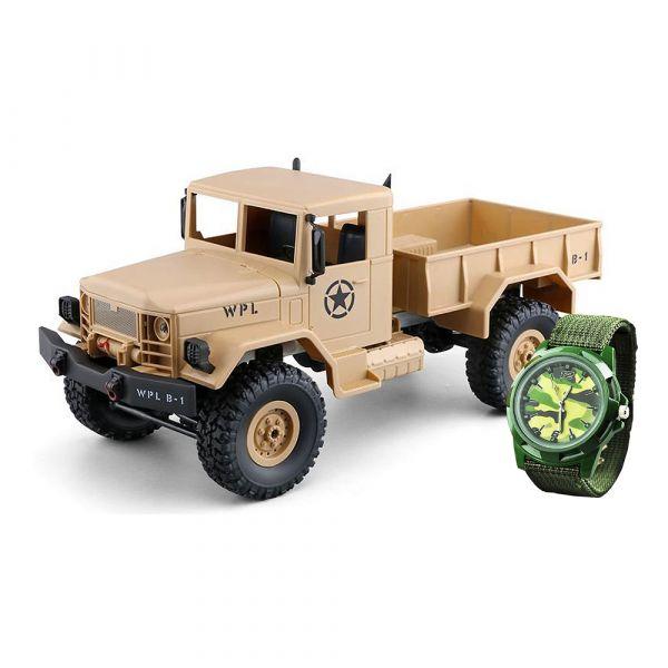 Amewi RC U.S Militärtruck 4WD sandfarben