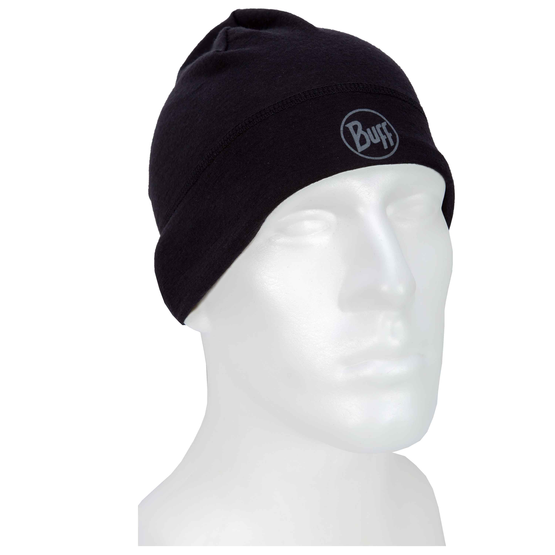 Buff Cap Lightweight solid black