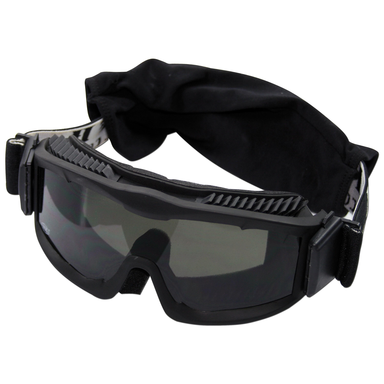 Schutzbrille Thunder deluxe MFH schwarz