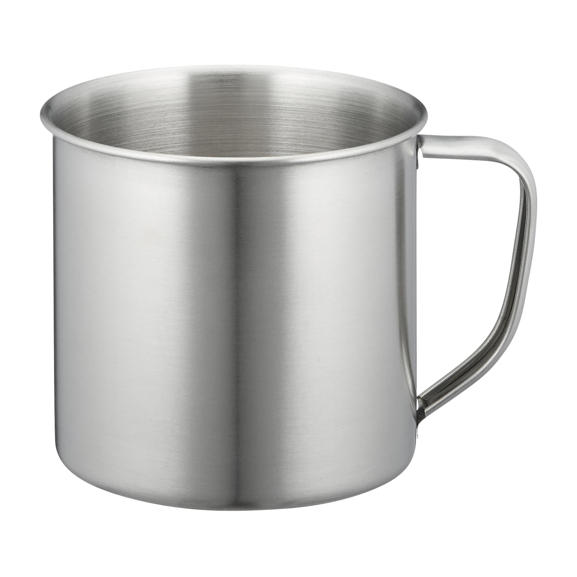 Edelstahlbecher 500 ml
