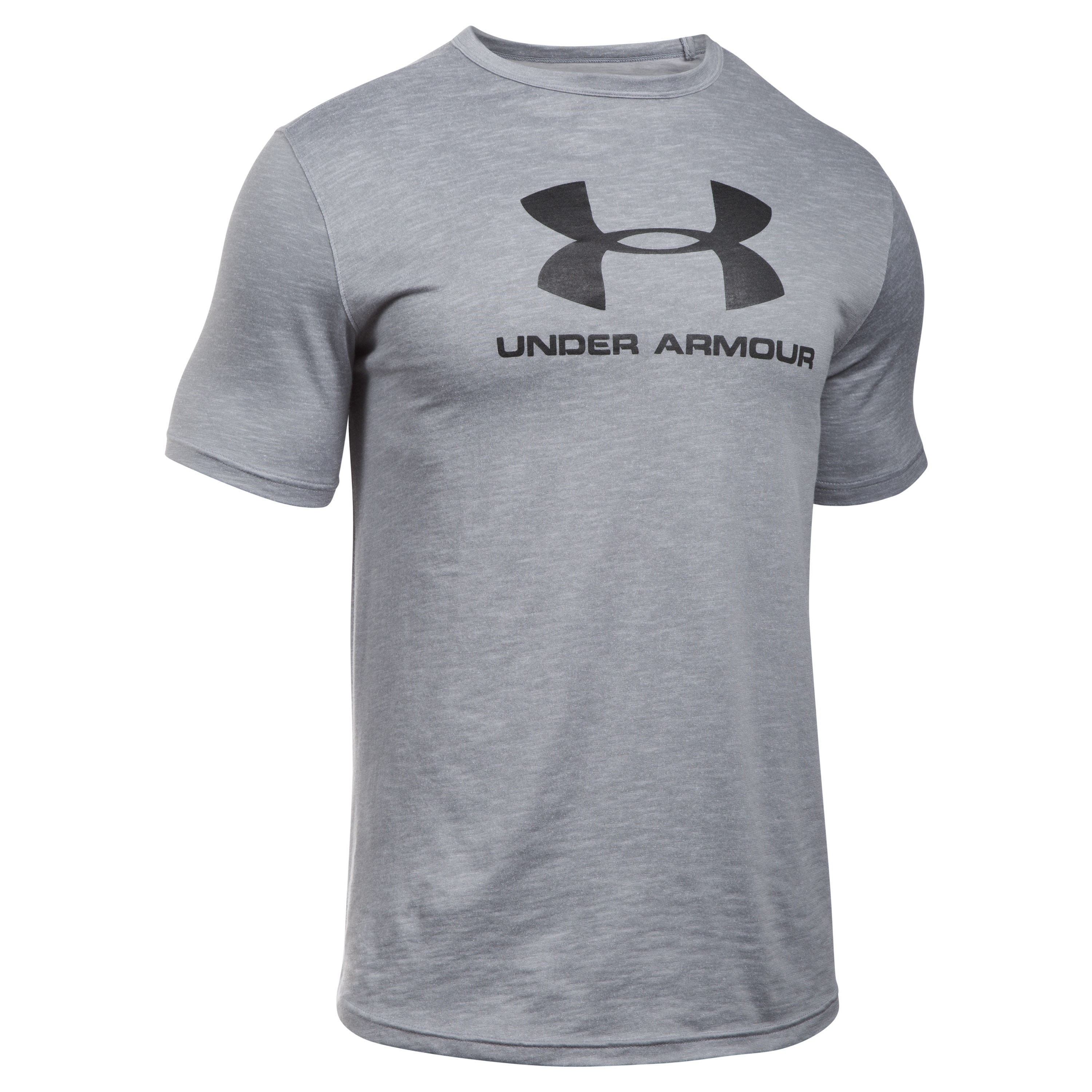 Under Armour Fitness T-Shirt Sportstyle Branded Tee grau