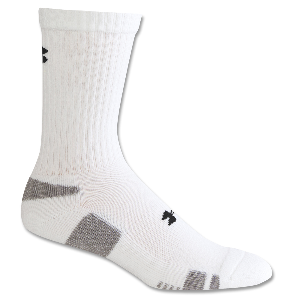 Under Armour Socken HG Crew weiß 3er Pack