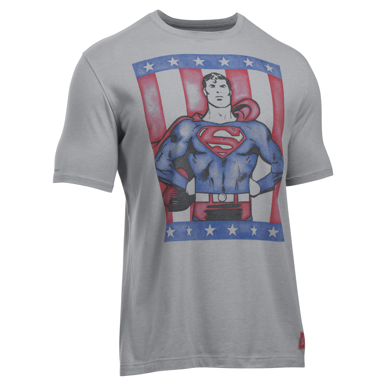 Under Armour Shirt Retro Superman