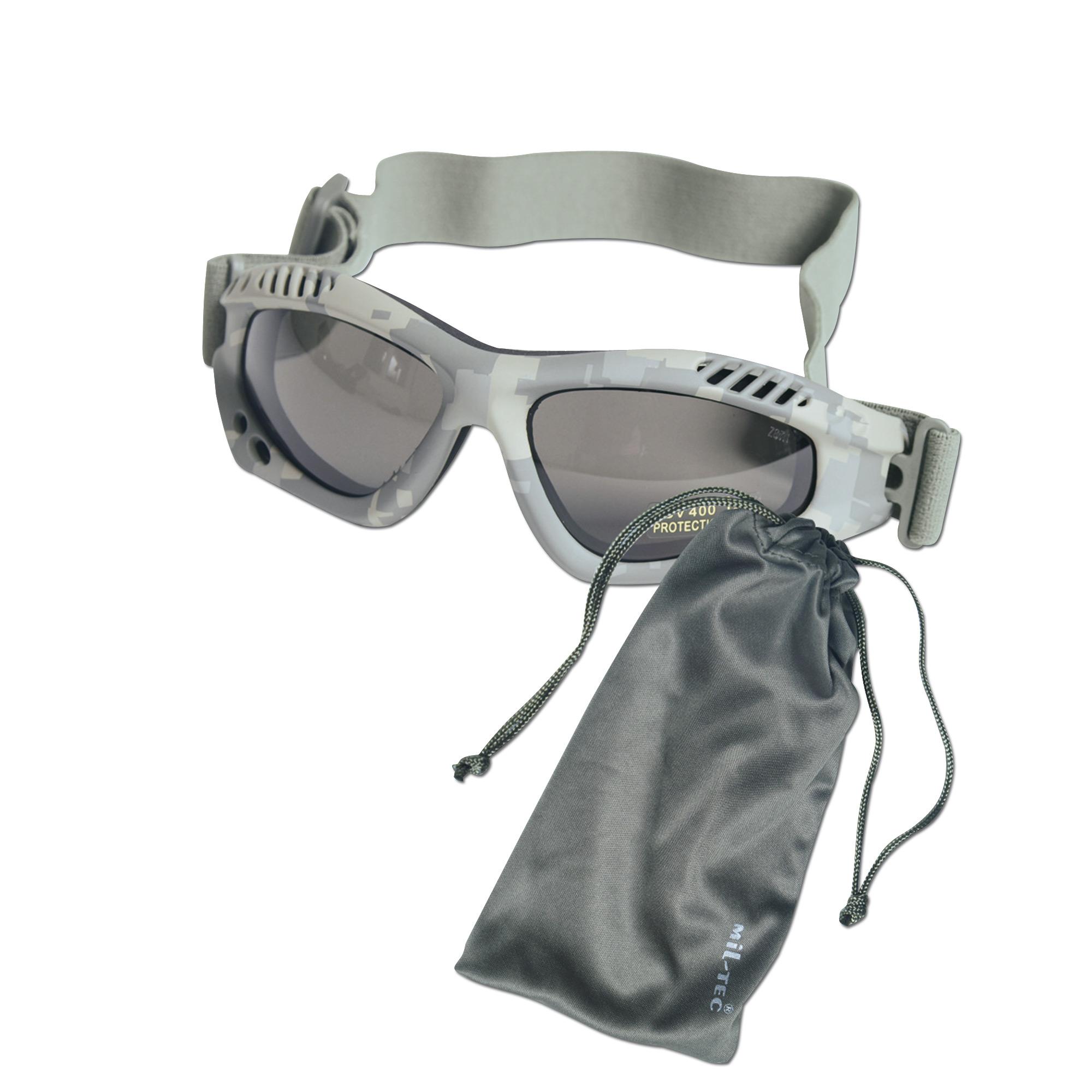 Brille Commando Air-Pro AT-digital smoke