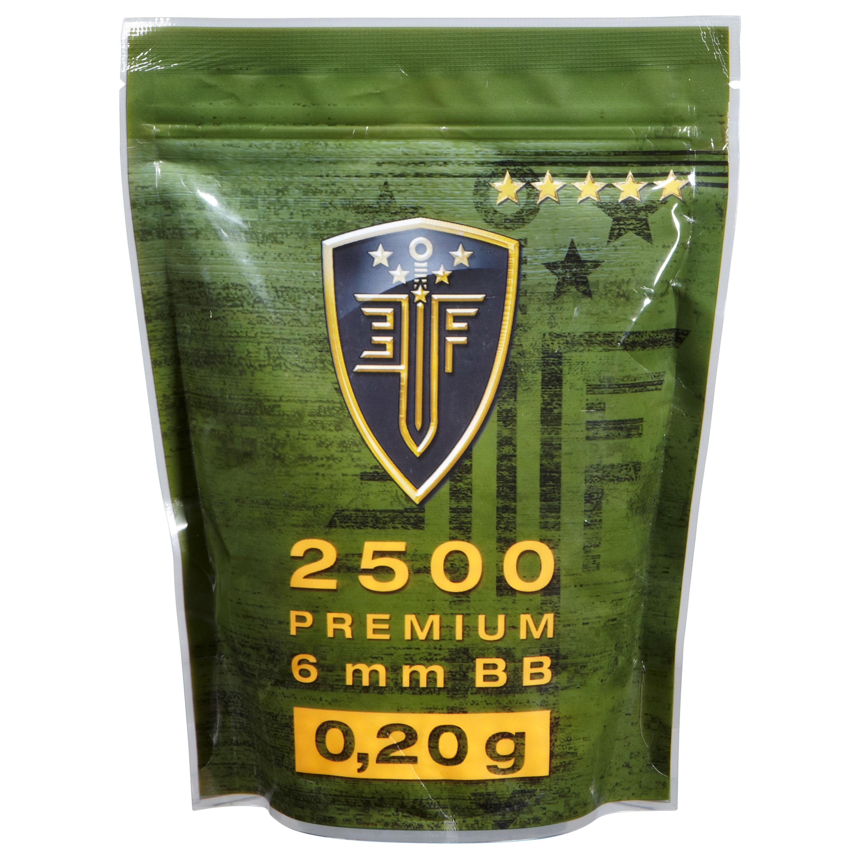 Elite Force Premium BBs 0.20 g 2500 Stk. weiß