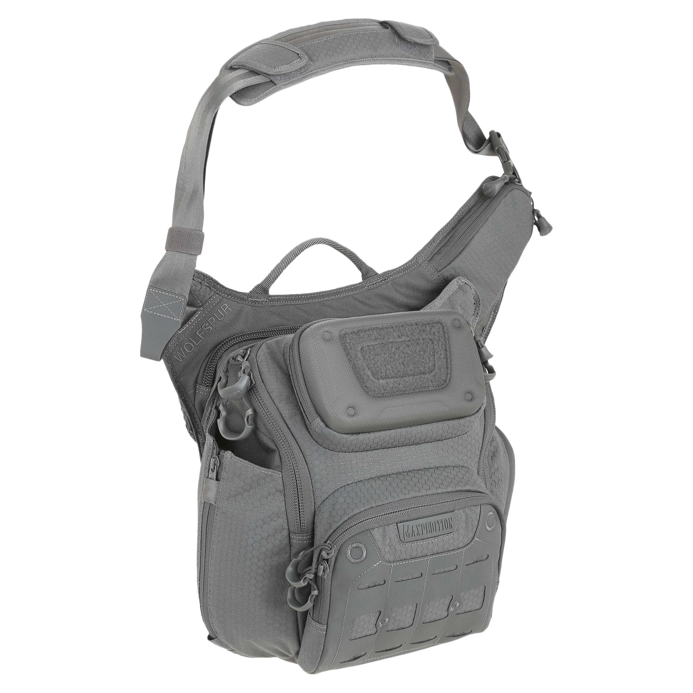 Maxpedition WOLFSPUR Crossbody Shoulder Bag grau