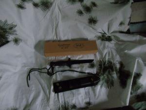 Kampfmesser schwarz