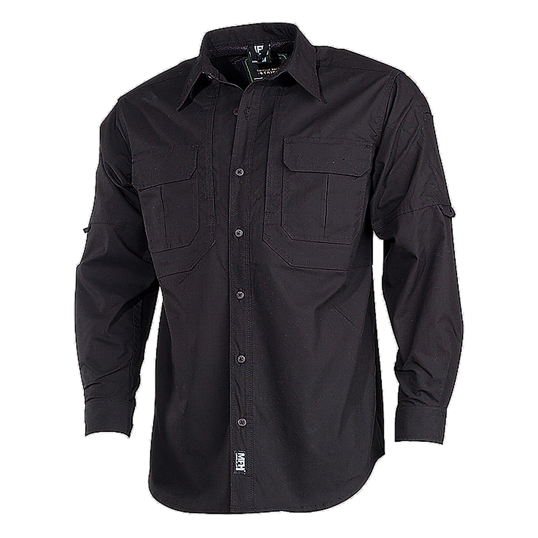 MFH Tactical Hemd Stake schwarz