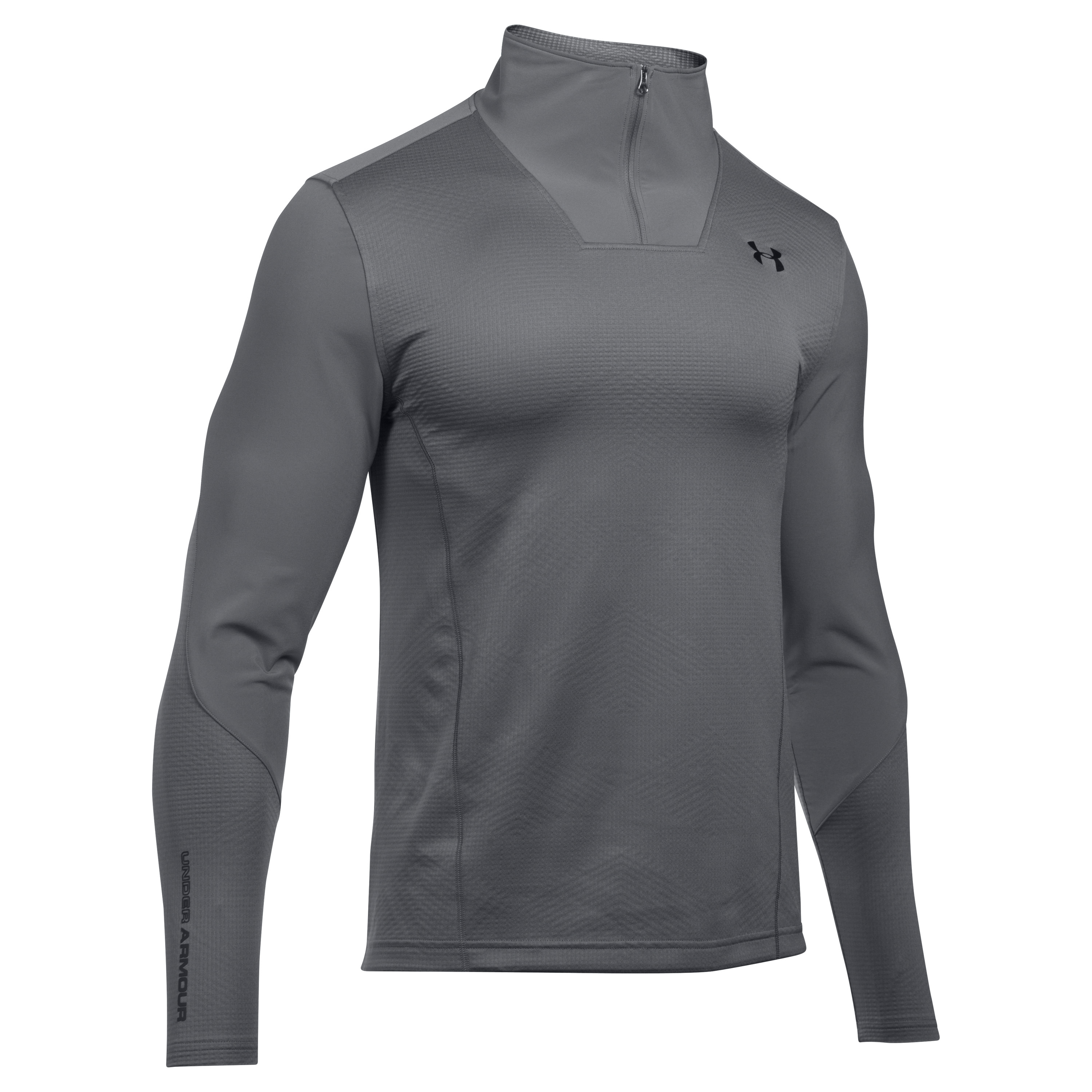Under Armour Langarmshirt CGI Raid Fitted 1/4 Zip grau