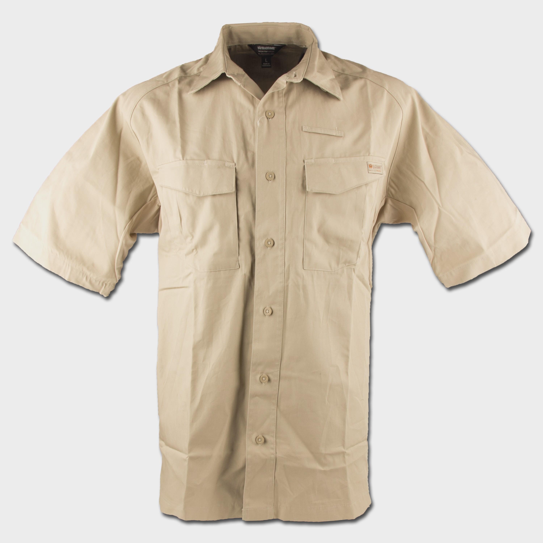 Blackhawk Performance Cotton Tactical Shirt Short Sleeve khaki