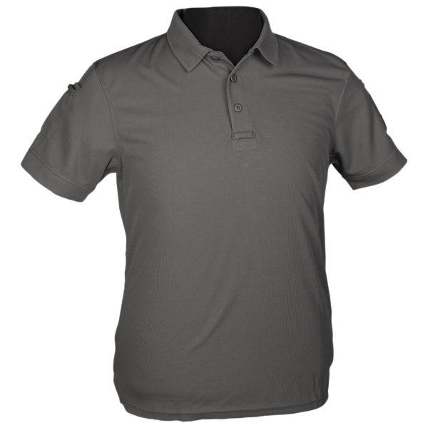 Mil-tec Poloshirt Tactical Quickdry 1/2 Arm urban grey