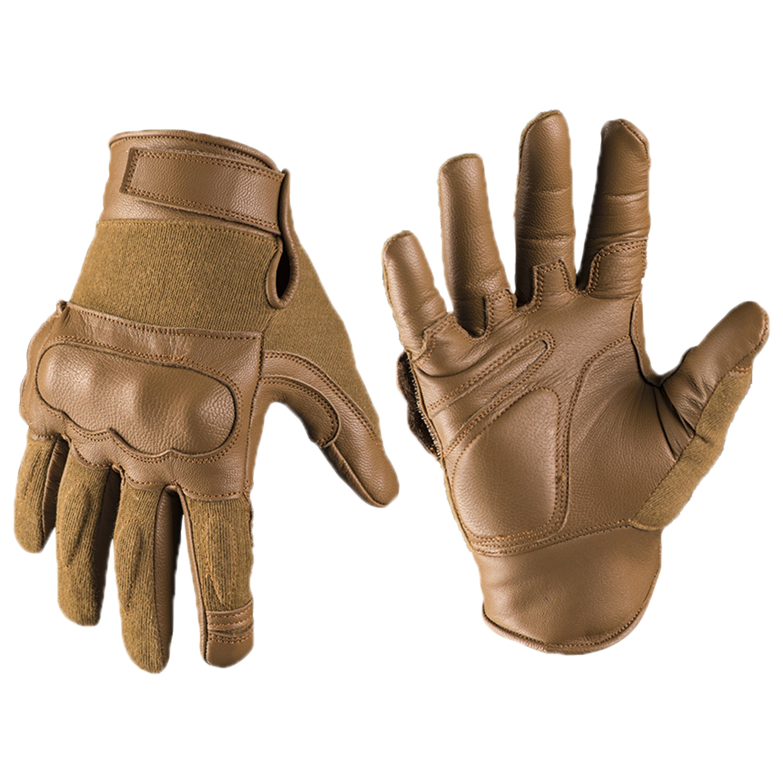 Handschuh Tactical Gloves Leder Kevlar dark coyote