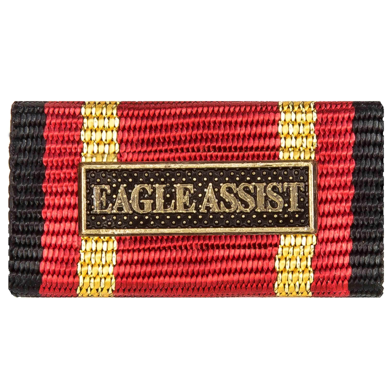 Ordensspange Auslandseinsatz Eagle Assist Bronze