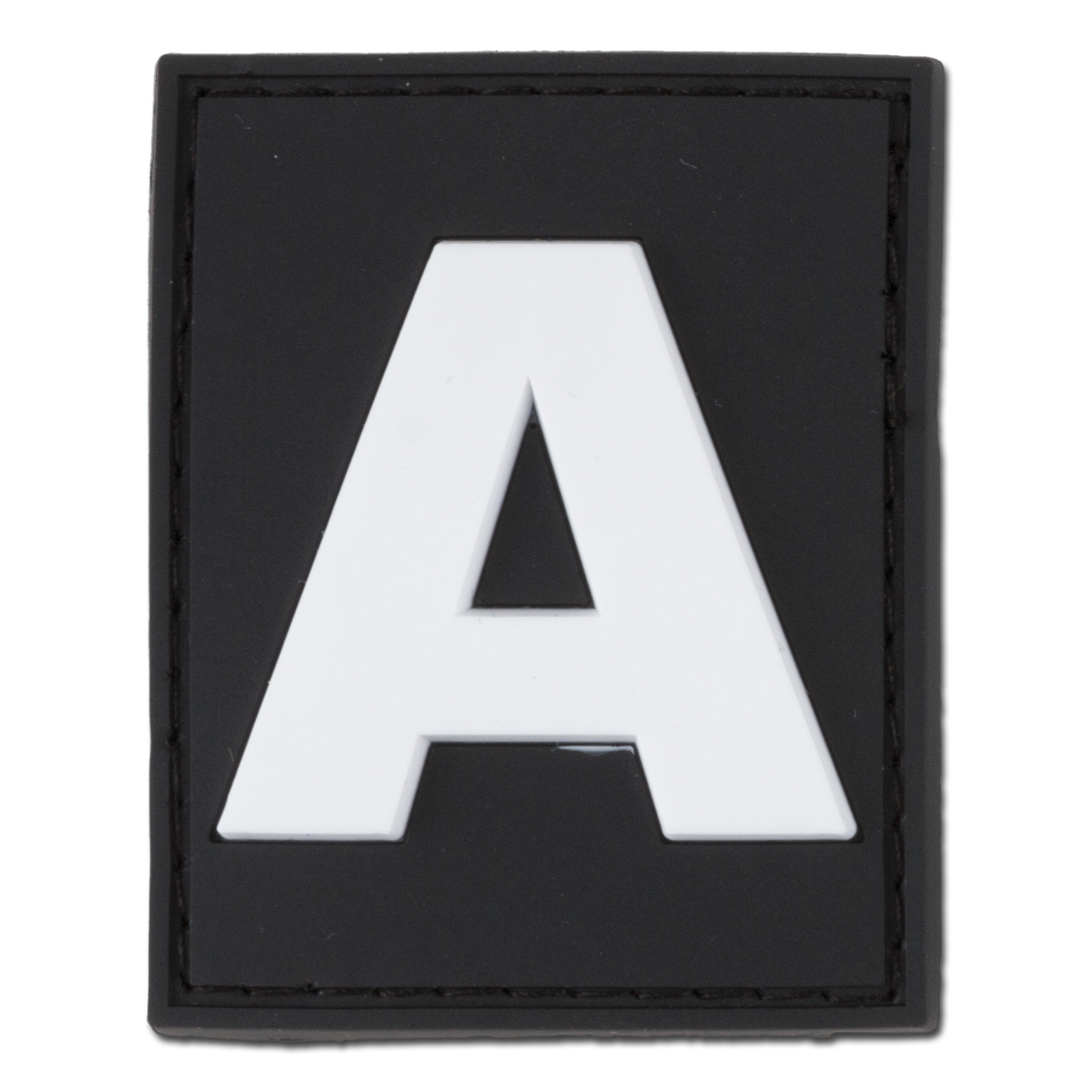 3D ID-Patch Buchstabe A swat