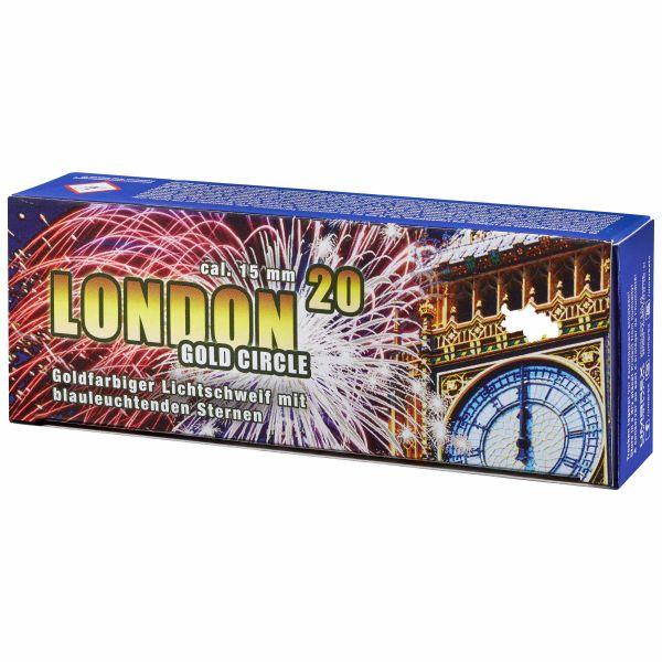Feuerwerk London Gold Circle