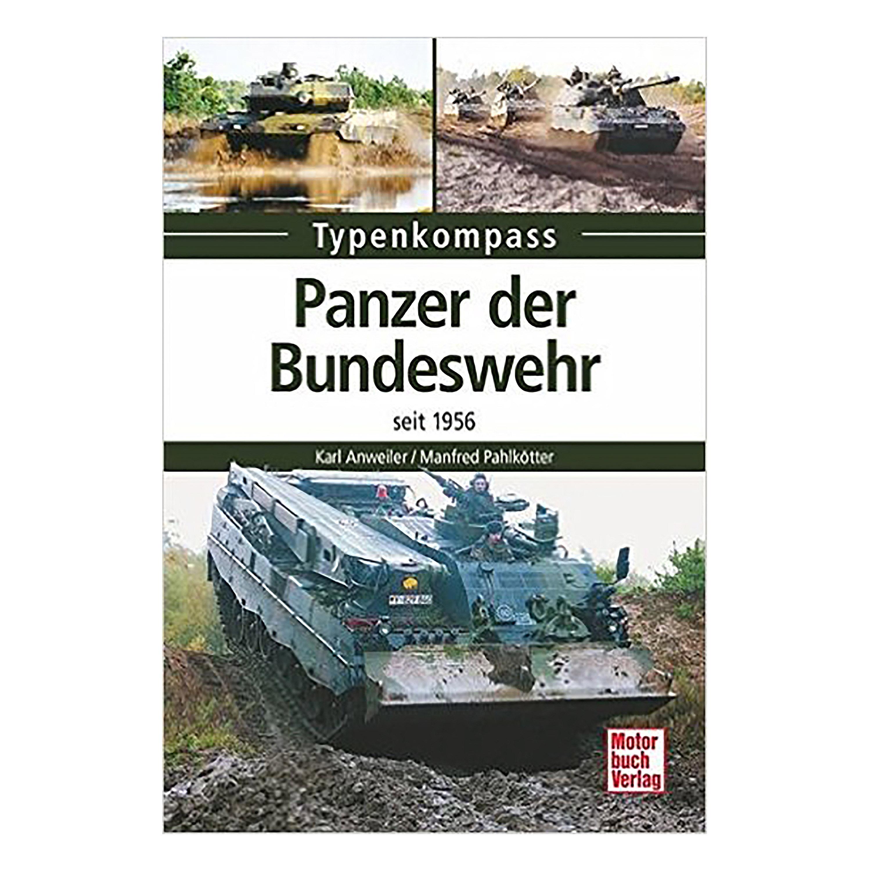 Buch Typenkompass Panzer der Bundeswehr - seit 1956