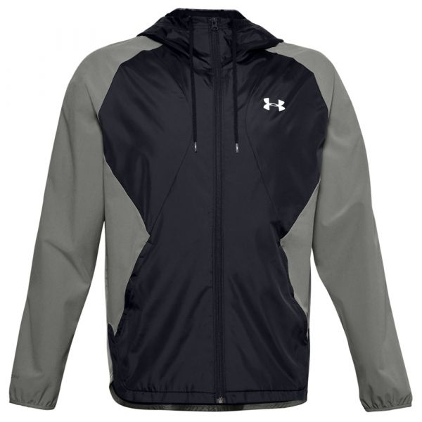 Under Armour Jacke Stretch-Woven Hooded Jacket gravity green