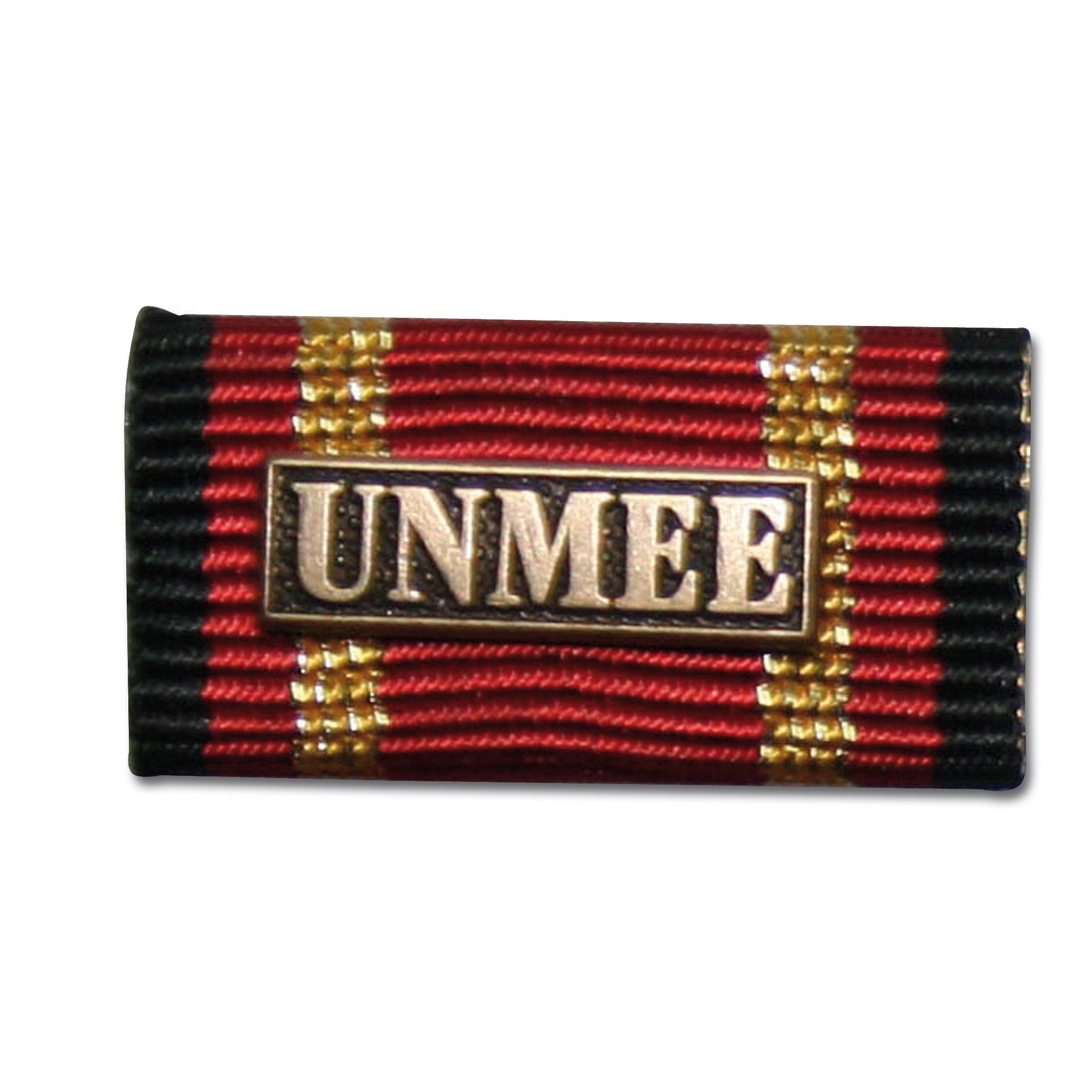 Ordensspange Auslandseinsatz UNMEE bronze