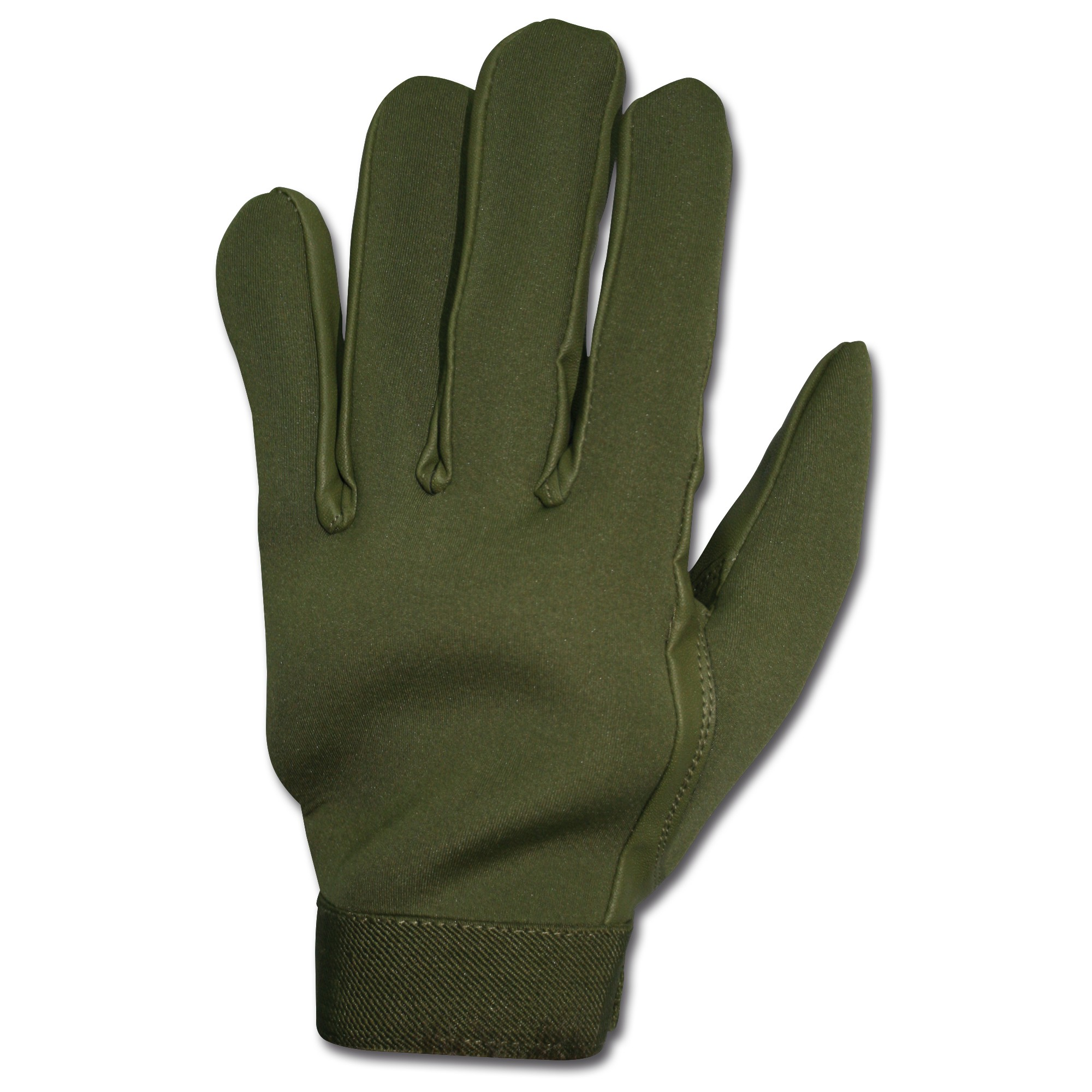Neopren Fingerhandschuhe Profi oliv