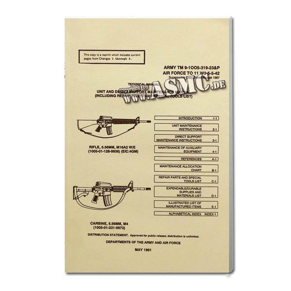 Buch M16A2 Rifle & M 4 Carbine