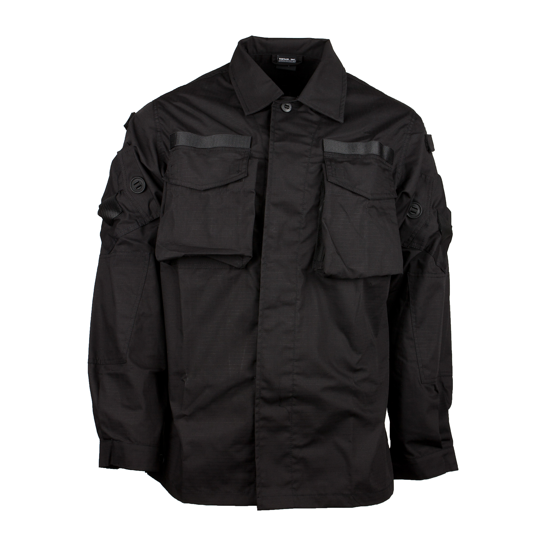 BW Kommando Smock Shirt schwarz