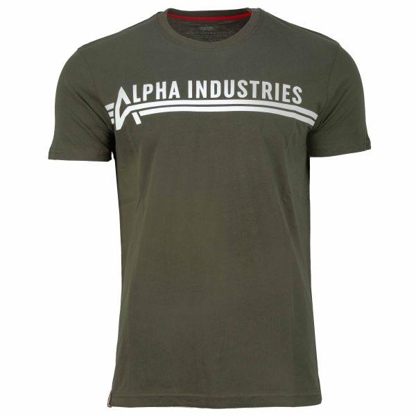 Alpha Industries T-Shirt T dark olive