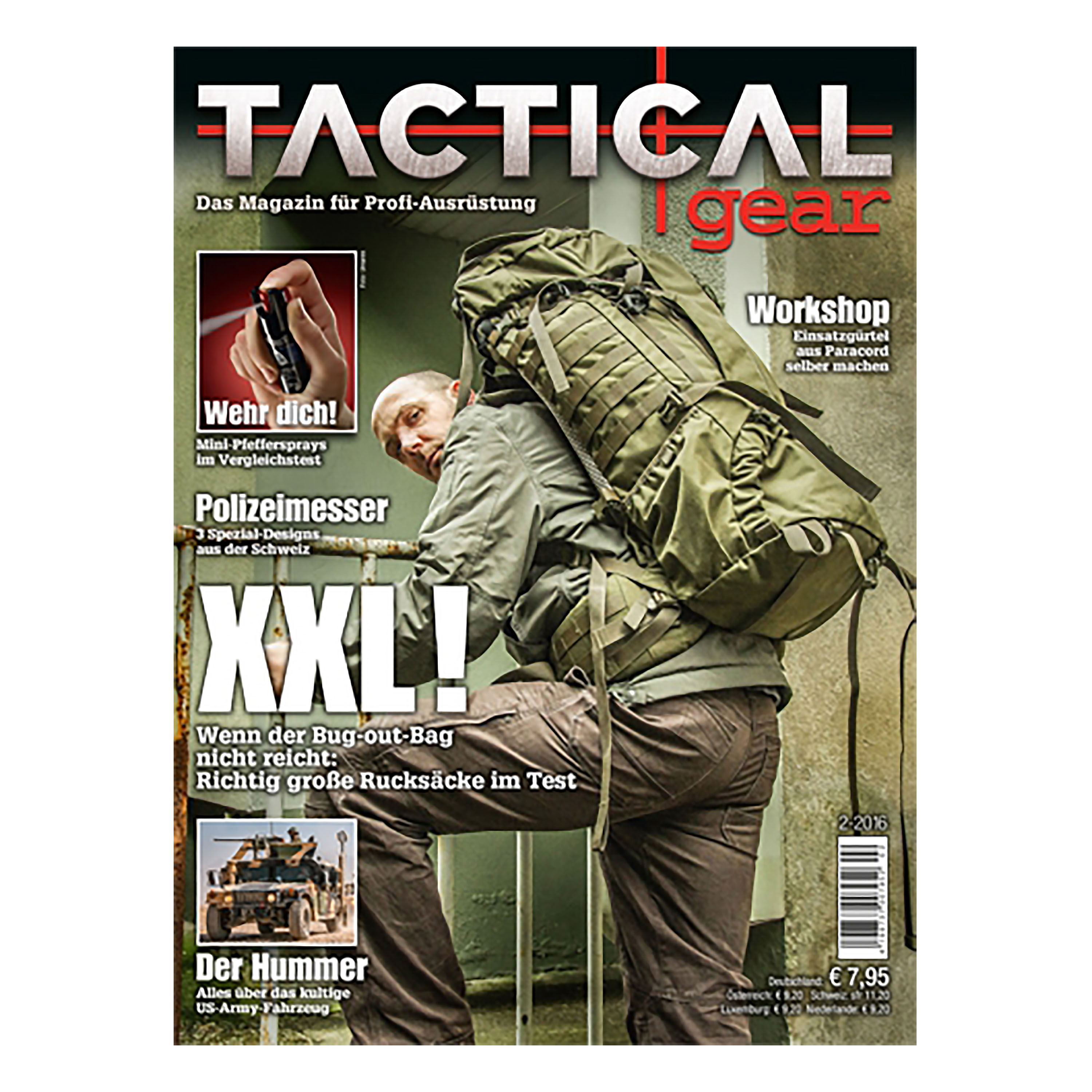 Magazin Tactical Gear 2/2016