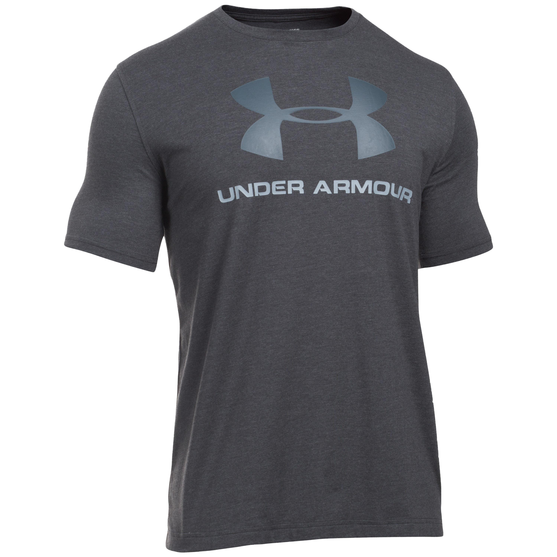 Under Armour Shirt Sportstyle Logo schwarz II