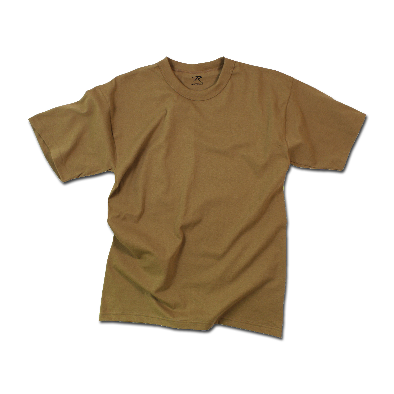 T-Shirt Rothco Moisture Wicking braun