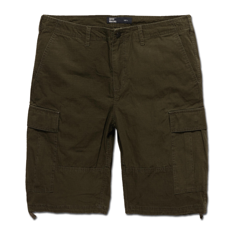 Vintage Industries BDU Shorts dunkeloliv