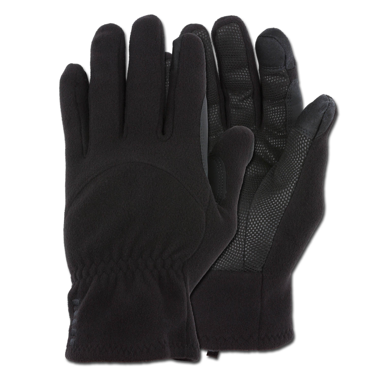 Handschuhe HWI Touchscreen Fleece Glove schwarz