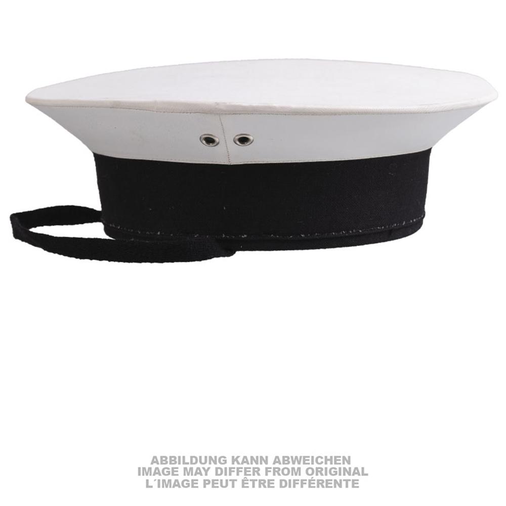 Marinetellermütze weiß gebraucht