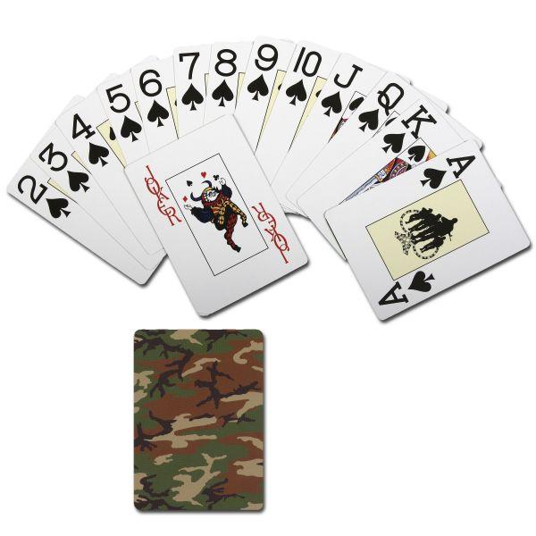Spielkarten Rothco Camouflage woodland