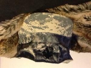 Cap on fur