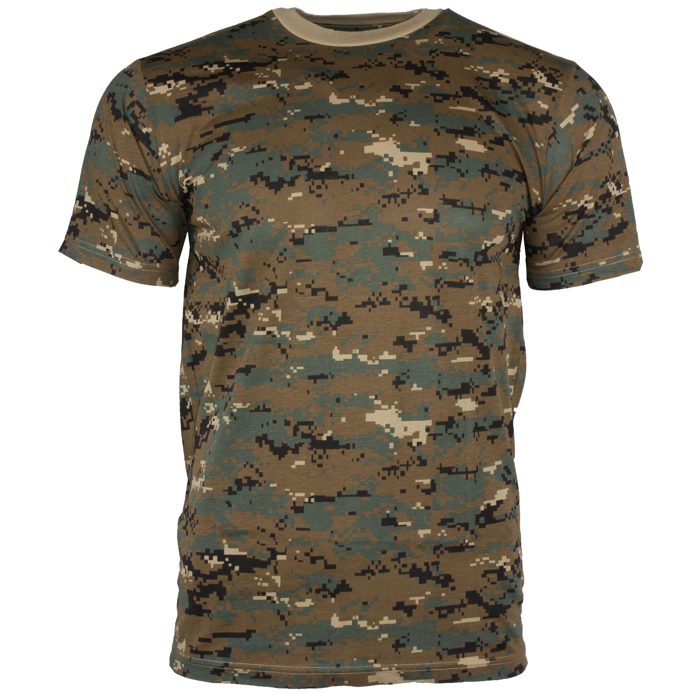 T-Shirt digital-woodland