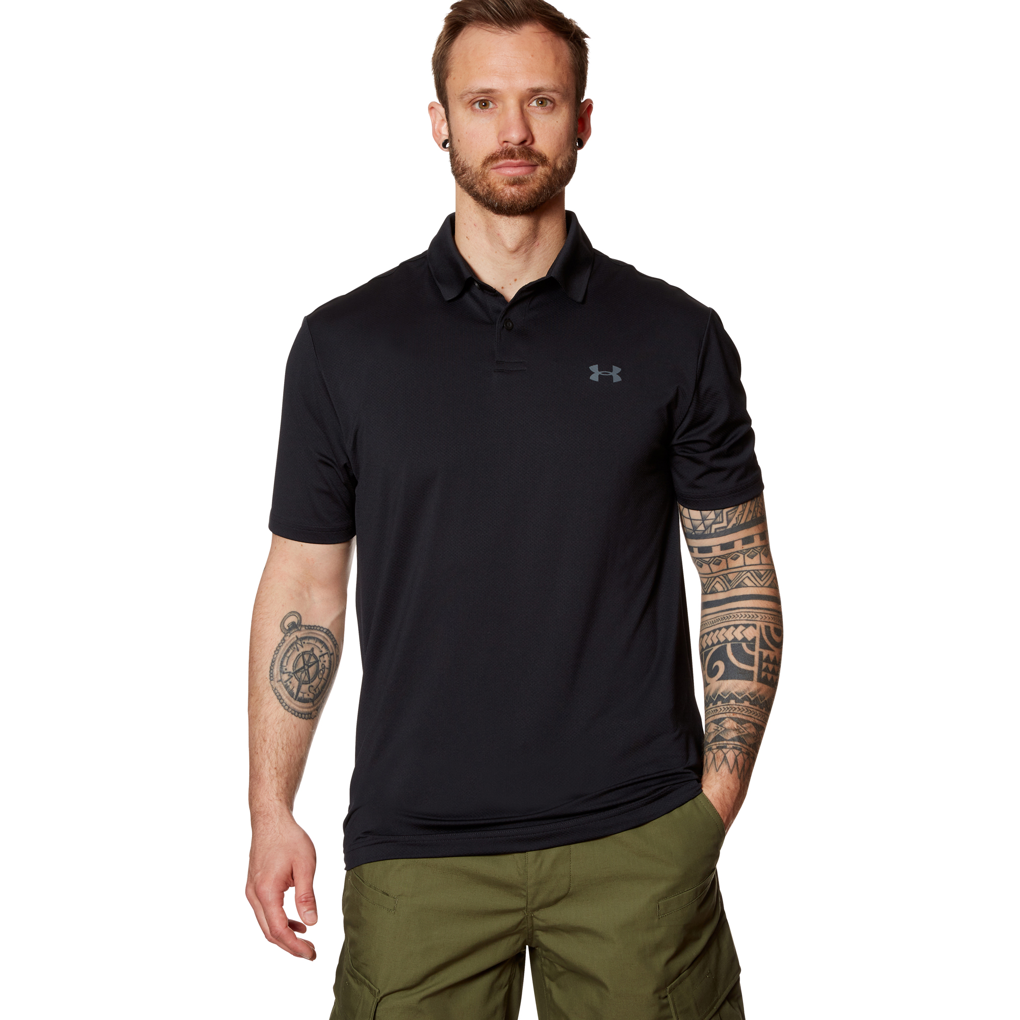 Under Armour Poloshirt Performance 2.0 2019 schwarz