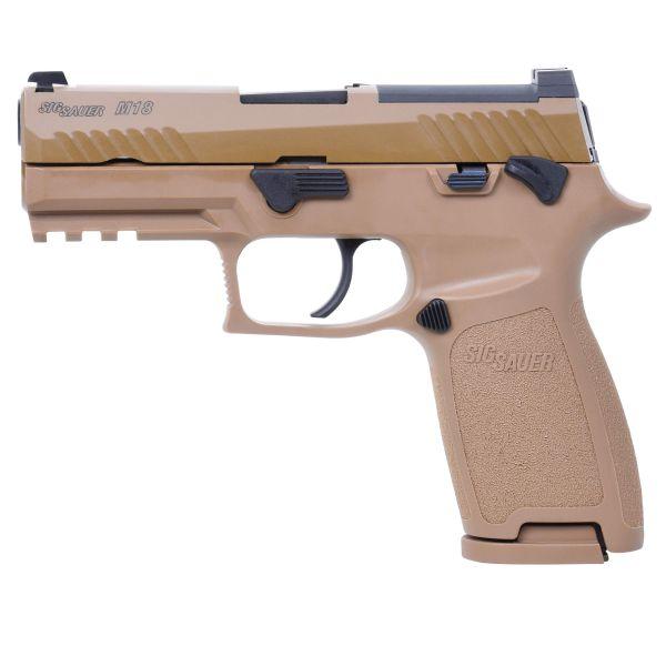 Sig Sauer Airsoft Pistole P320-M18 GBB tan