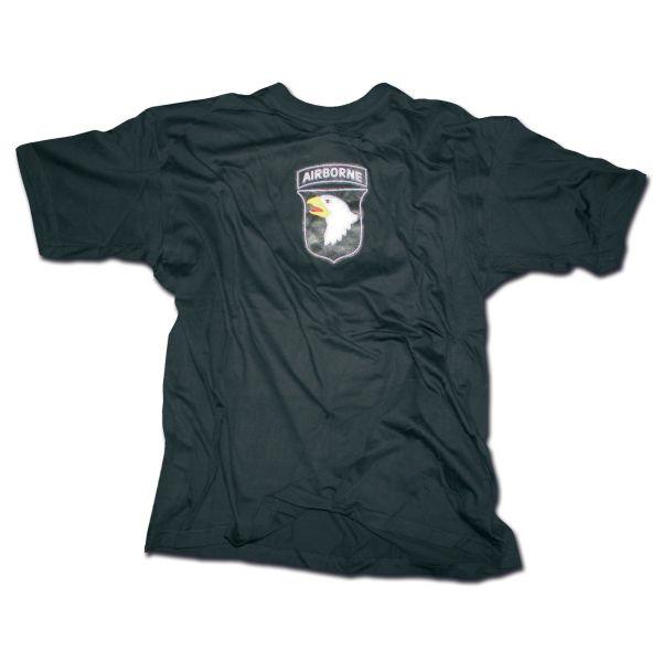 T-Shirt 101st Airborne Division schwarz