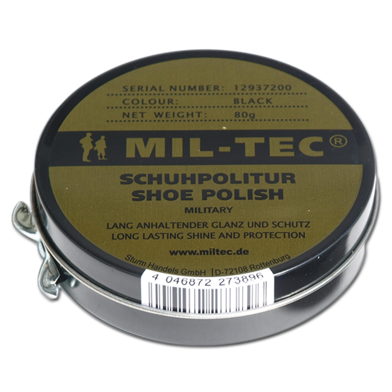 Mil-Tec Schuhcreme schwarz 80g