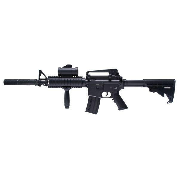 GSG Airsoft Schmeisser AR-15 AEG 0.5 J schwarz