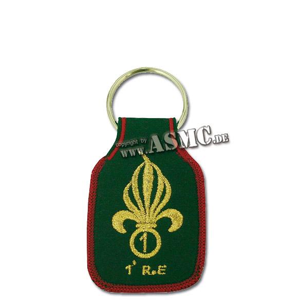 Schlüsselanhänger Fremdenlegion 1er RE