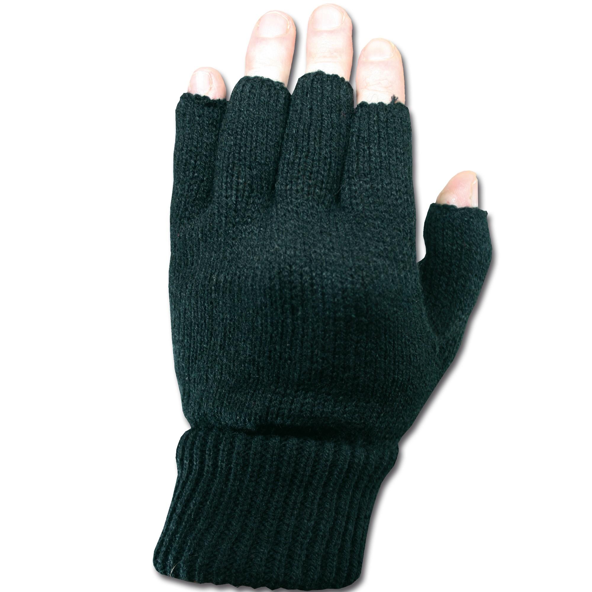 Fingerlinge Acryl schwarz