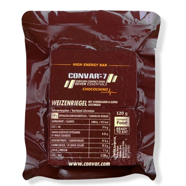 Convar-7 Riegel High Energy Bar Chocochino 108 Stück