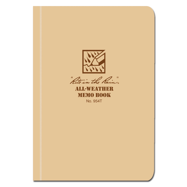 Rite in the Rain Tactical Memo Book khaki 954T