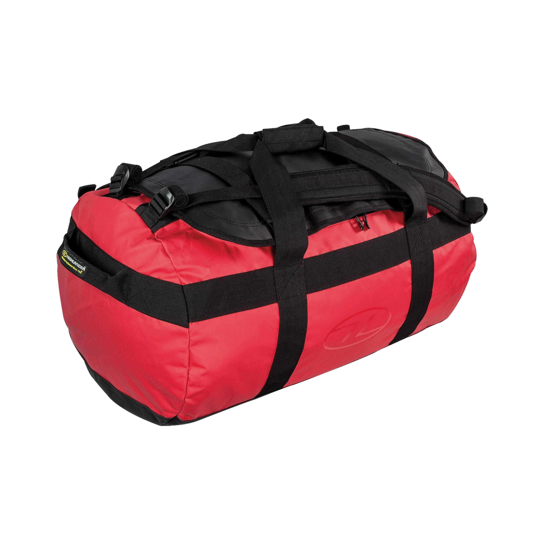 Highlander See/Packtasche spritzwassergeschützt rot 65L