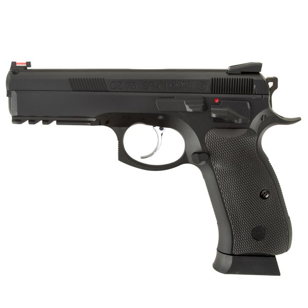 ASG Airsoft CZ SP-01 Shadow Vollmetall GBB 1 J schwarz